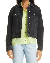 Rag & Bone Nico Denim Jacket - Multicolour