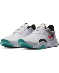 Nike Super Rep Go Training Shoes White Black Grey - Multicolour