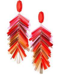 Kendra Scott - Justyne Drop Earrings - Lyst