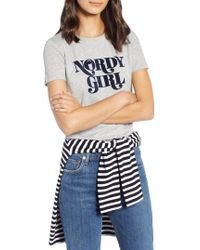 Nordstrom - 1901 Short Sleeve Graphic Tee - Lyst
