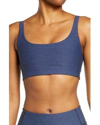 Outdoor Voices Double Time Sports Bra - Blue