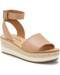 Lucky Brand - Joodith Espdarille Wedge Sandals - Lyst