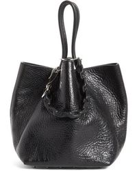 Alexander Wang - Small Roxy Covered Chain Leather Bucket Bag - Lyst