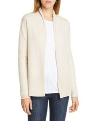 Nordstrom - Open Cashmere Cardigan - Lyst
