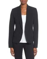 Anne Klein - Anne Klein One-button Suit Jacket - Lyst