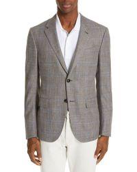 Ermenegildo Zegna - Milano Classic Fit Plaid Wool Blend Sport Coat - Lyst