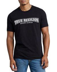 True Religion - Arch Logo T-shirt - Lyst