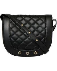 Freida Rothman - Bleeker Quilted Leather Messenger Bag - - Lyst