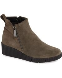 The Flexx - Easy Does It Wedge Bootie - Lyst