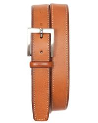 Tommy Bahama - Contrast Stitch Leather Belt - Lyst