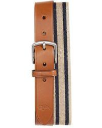 Nordstrom - 1901 Orris Tumbled Leather Belt - Lyst