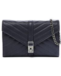 Botkier - Dakota Quilted Leather Clutch - Lyst