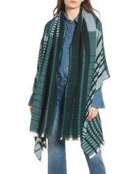 Treasure & Bond - Plaid Blanket Wrap - Lyst