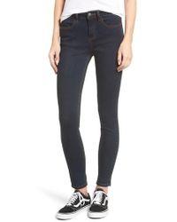 RVCA - Hi Roader High Waist Skinny Jeans - Lyst