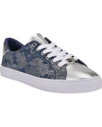 Nine West Best3 Glitter Sneaker - Blue