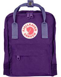 Fjallraven - Fjällräven 'mini Kånken' Water Resistant Backpack - Purple - Lyst