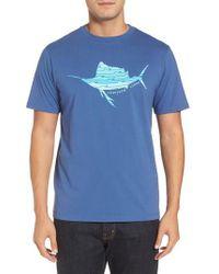 Vineyard Vines | Sailfish Whale Line Graphic T-shirt | Lyst