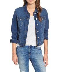 Mavi Jeans - Mavi Samantha Denim Jacket - Lyst