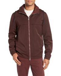 Vince - Zip Front Regular Fit Jacket - Lyst