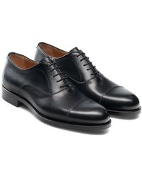 Magnanni Jefferson Cap Toe Oxford - Black