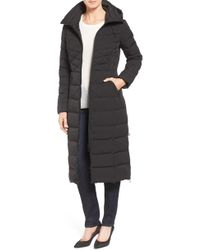 Bernardo - Quilted Long Coat With Down & Primaloft Fill - Lyst