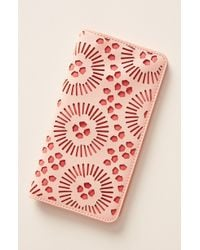 Anthropologie Pippa Travel Wallet - Red