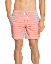 Bonobos Banzai 7-inch E-waist Swim Trunks - Multicolor