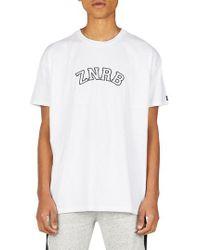 Zanerobe - Team Rugger T-shirt - Lyst