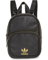a4bff1bbc4cf Lyst - adidas Originals Originals Cream Fleece Backpack in White