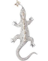 Alexis Bittar - Pavé Crystal Lizard Pin - Lyst