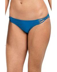 Volcom | Simply Solid Macrame Bikini Bottoms | Lyst