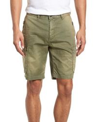 Scotch & Soda - Washed Cargo Shorts - Lyst