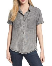 Billy T - Ticking Stripe Shirt - Lyst