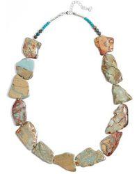 Nakamol - Chunky Amazonite & Agate Short Necklace - Lyst