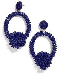 BaubleBar - Ricarda Hoop Earrings - Lyst