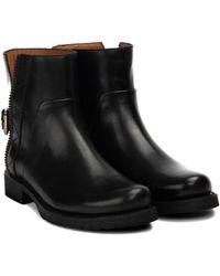 Frye Veronica Engineer Boot - Black