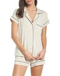Eberjey - 'gisele' Shorty Pajamas - Lyst