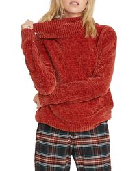 Volcom Cozy On Over Sweater - Red