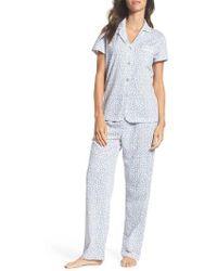 Carole Hochman | Print Jersey Pyjamas | Lyst