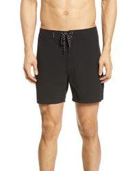Hurley Phantom Brooks Street Board Shorts - Black