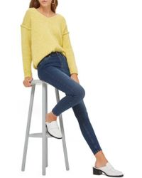 TOPSHOP | Jamie High Rise Ankle Skinny Jeans | Lyst