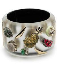 Alexis Bittar - Fruit Studded Lucite Hinge Bracelet - Lyst