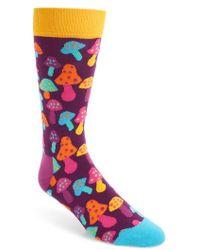 Happy Socks - Mushroom Socks - Lyst