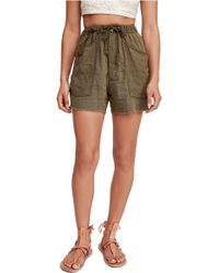 Free People Tomboy Shorts - Green