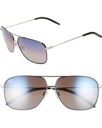 Maui Jim - Kami 62mm Polarizedplus2 Aviator Sunglasses - Lyst