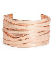 Karine Sultan Angelique Wrist Cuff - Pink
