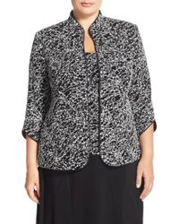 Alex Evenings - Foiled Print Twinset (plus Size) - Lyst
