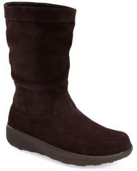 Fitflop - (tm) 'loaff' Slouchy Boot - Lyst