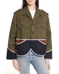 Harvey Faircloth - Vintage Crop Jacket - Lyst