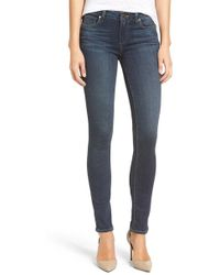 PAIGE - Transcend Skyline Skinny Jeans - Lyst